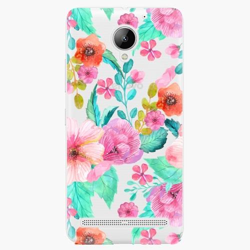 Plastový kryt iSaprio - Flower Pattern 01 - Lenovo C2