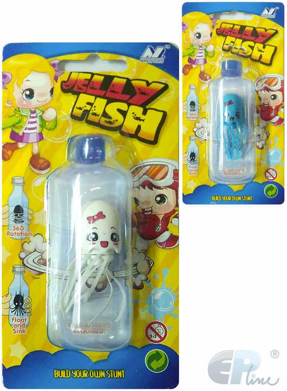 EP Line Jelly Fish Medúza plovoucí ve vodě různé barvy v láhvi