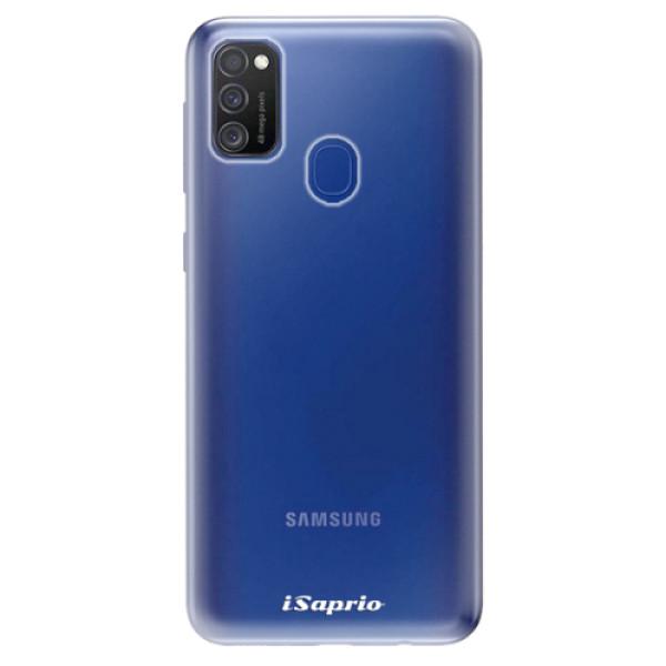 Odolné silikonové pouzdro iSaprio - 4Pure - mléčný bez potisku - Samsung Galaxy M21