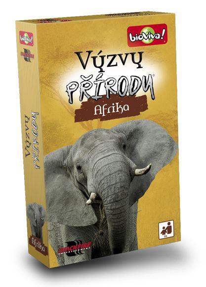 ADC Hra Bioviva! Výzvy přírody Zvířata Afrika vědomostní karetní *SPOLEČENSKÉ HRY*
