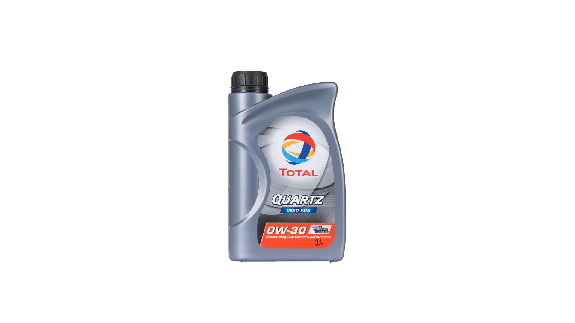 TOTAL 0w-30 Quartz ineo FDE 1L (205312)