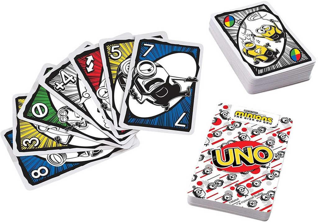 MATTEL Hra Uno karty Mimoni (Minions) *SPOLEČENSKÉ HRY*