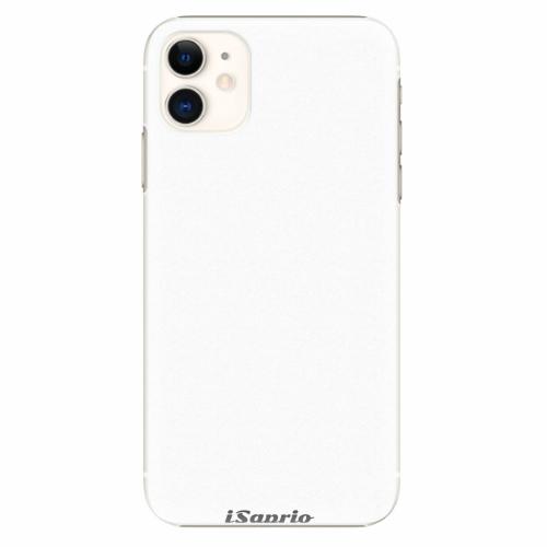 Plastový kryt iSaprio - 4Pure - bílý - iPhone 11
