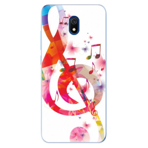 Odolné silikonové pouzdro iSaprio - Love Music - Xiaomi Redmi 8A