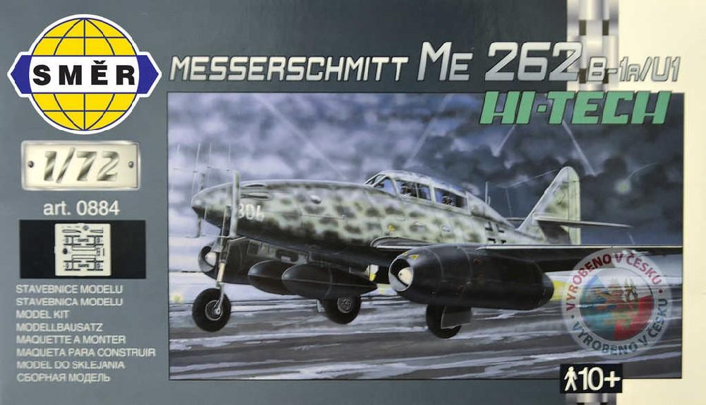 SMĚR Model letadlo Messerschmitt Me 262 B 1:72 (stavebnice letadla)