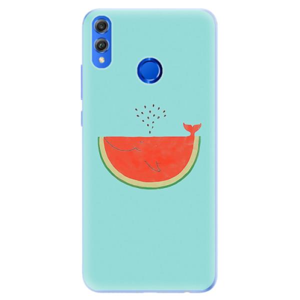 Silikonové pouzdro iSaprio - Melon - Huawei Honor 8X