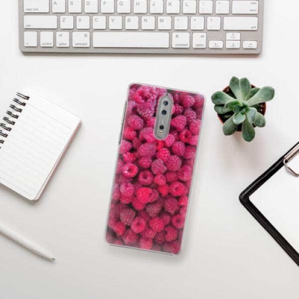 Plastové pouzdro iSaprio - Raspberry - Nokia 8