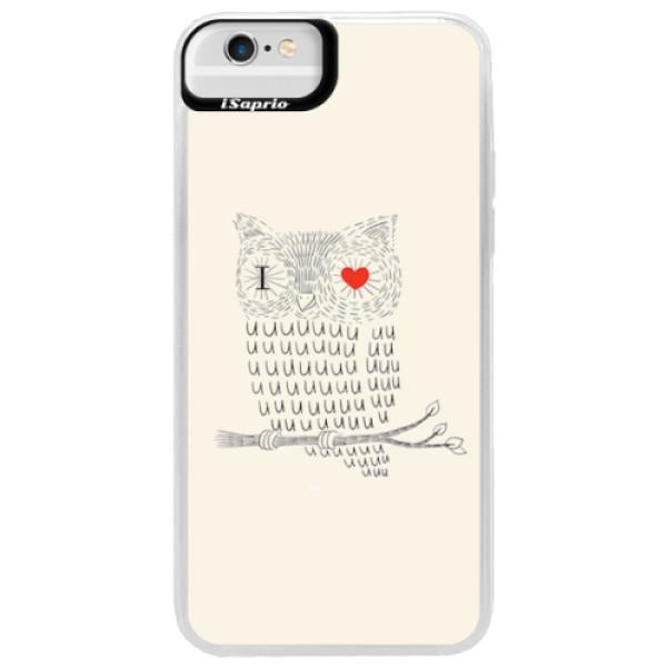Neonové pouzdro Blue iSaprio - I Love You 01 - iPhone 6 Plus/6S Plus