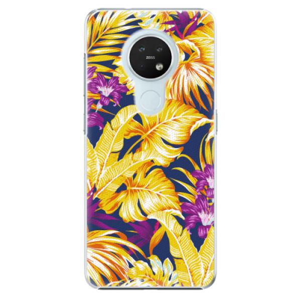 Plastové pouzdro iSaprio - Tropical Orange 04 - Nokia 7.2