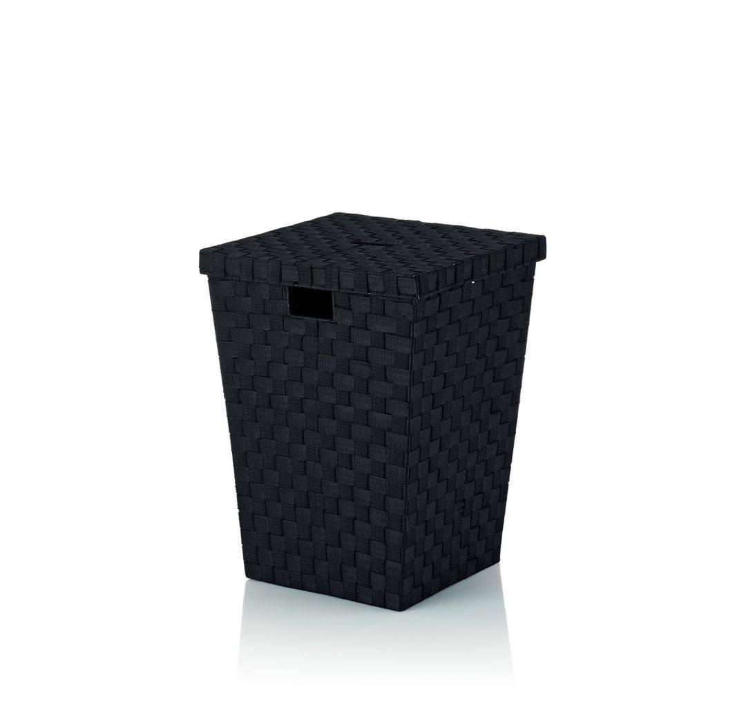 Koš na prádlo Alvaro černý, 40x40x52cm KL-23070 - Kela + dárek k nákupu