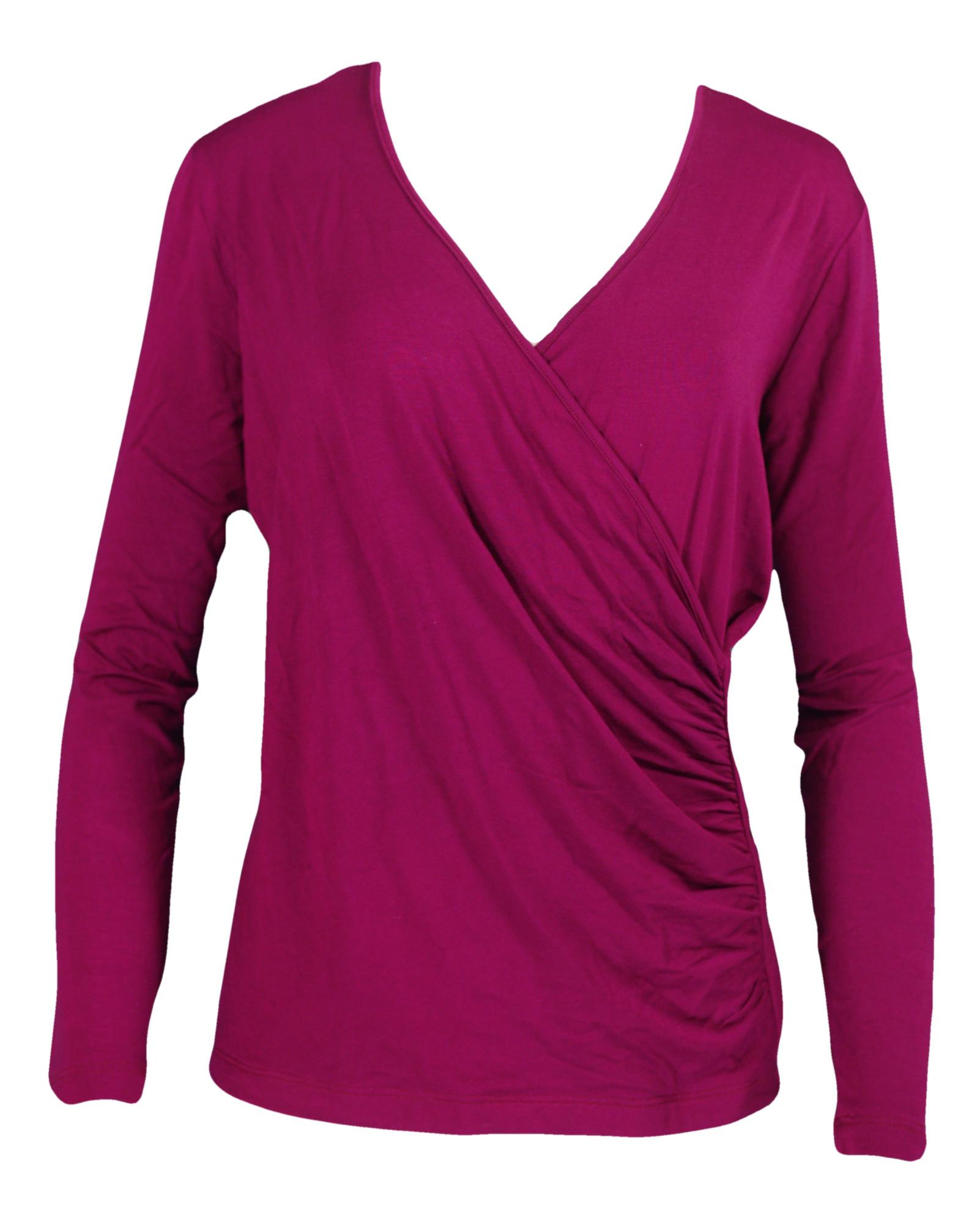 Dámské tričko Kami - Favab - Fuchsia/XL