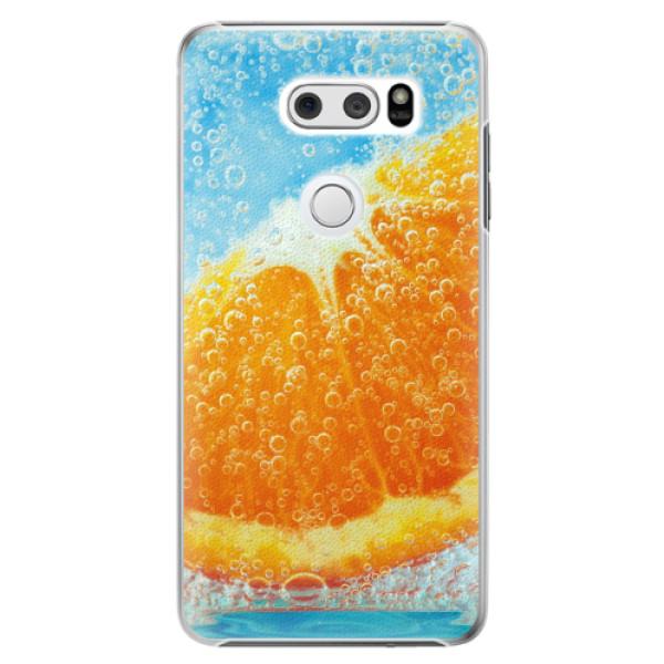 Plastové pouzdro iSaprio - Orange Water - LG V30