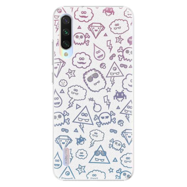 Plastové pouzdro iSaprio - Funny Clouds - Xiaomi Mi A3
