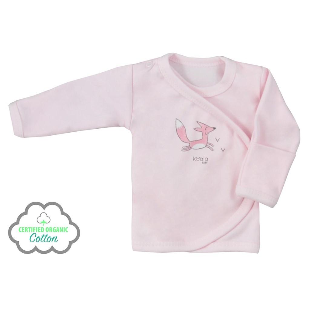 Kojenecká košilka z organické bavlny Koala Lesní Přítel