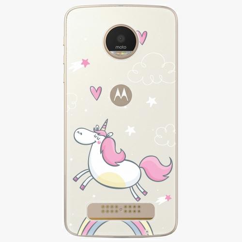 Plastový kryt iSaprio - Unicorn 01 - Lenovo Moto Z Play