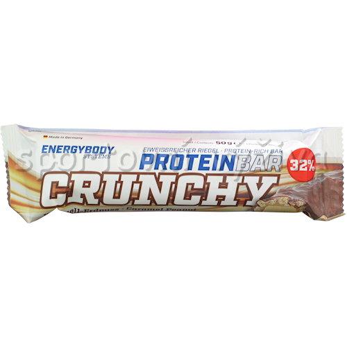 Protein Bar Crunchy 32% 50g-caramel-peanut