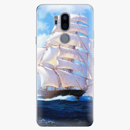 Plastový kryt iSaprio - Sailing Boat - LG G7