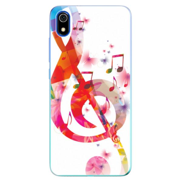 Odolné silikonové pouzdro iSaprio - Love Music - Xiaomi Redmi 7A