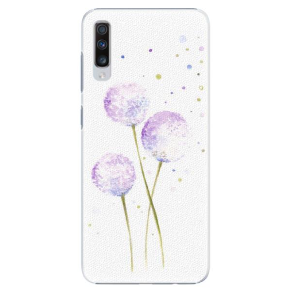 Plastové pouzdro iSaprio - Dandelion - Samsung Galaxy A70