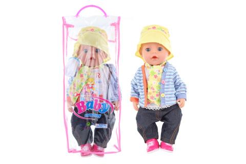 Chlapeček 43 cm - pohlaví chlapečka