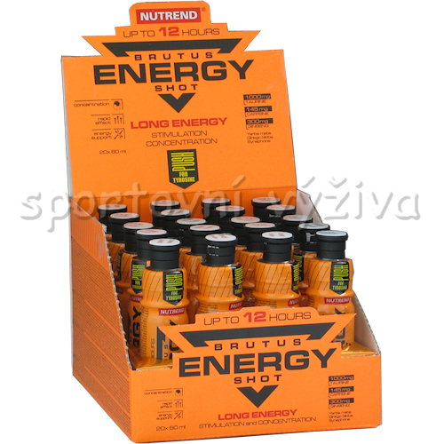 Brutus Energy Shot 20x60ml