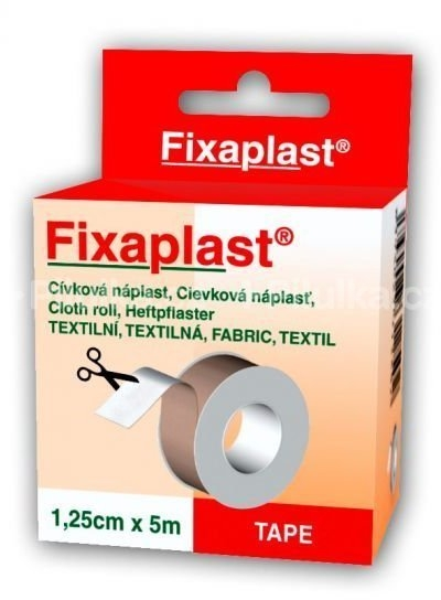Náplast Fixaplast cívka 1,25cmx5m