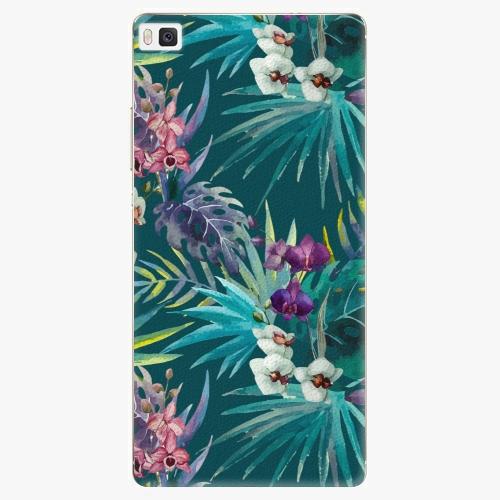 Plastový kryt iSaprio - Tropical Blue 01 - Huawei Ascend P8