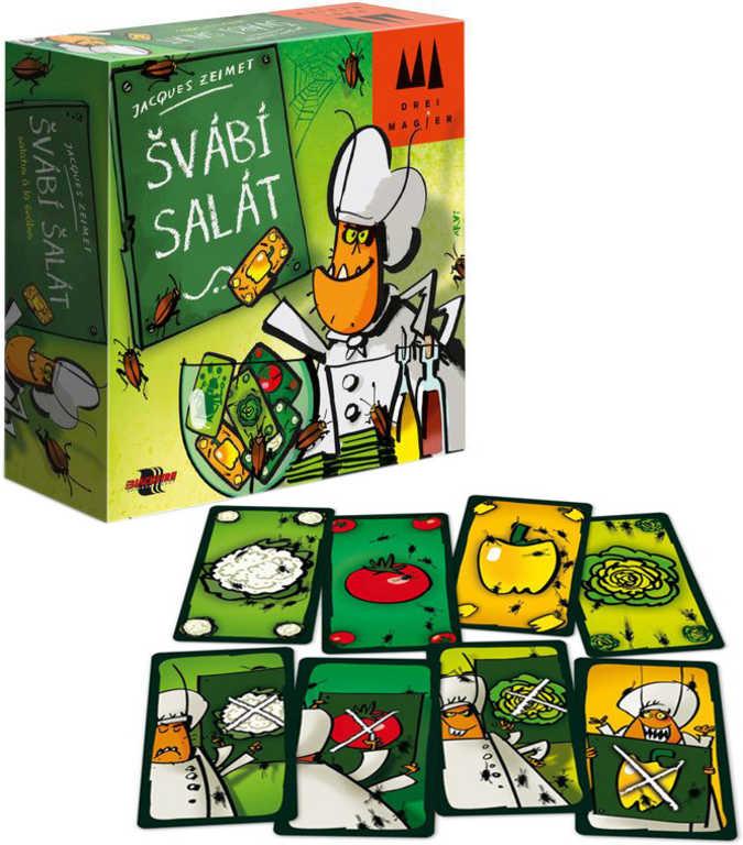 ADC Hra karetní Švábí salát *SPOLEČENSKÉ HRY*