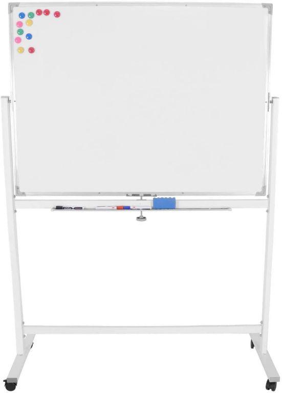 Magnetická tabule s příslušenstvím, 110 x 75 cm