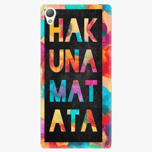 Plastový kryt iSaprio - Hakuna Matata 01 - Sony Xperia Z3