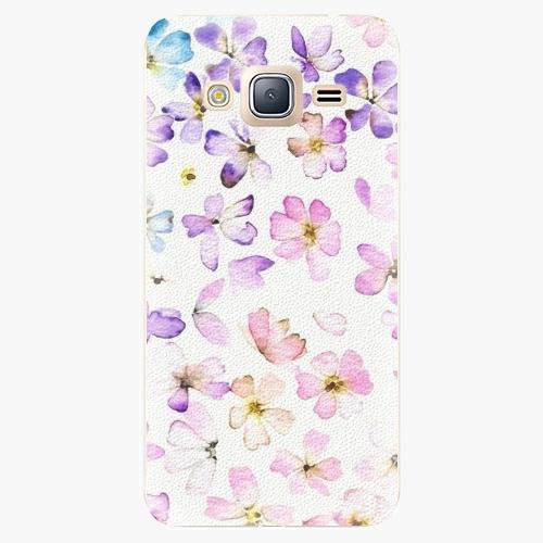 Plastový kryt iSaprio - Wildflowers - Samsung Galaxy J3