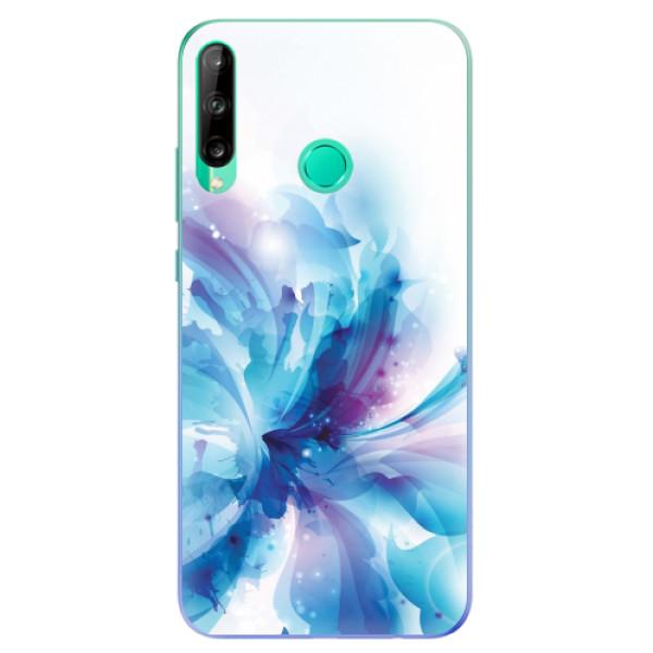 Odolné silikonové pouzdro iSaprio - Abstract Flower - Huawei P40 Lite E