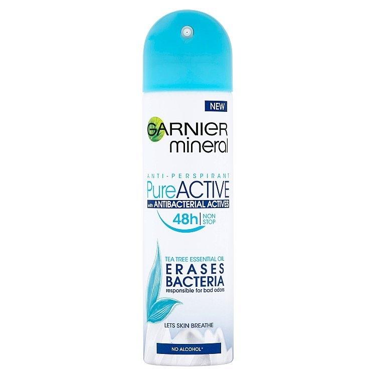 Mineral Pure Active minerální antiperspirant ve spreji 150 ml