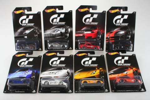 Hot Wheels angličák Grand Turismo DJL12