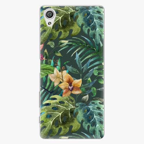 Plastový kryt iSaprio - Tropical Green 02 - Sony Xperia X