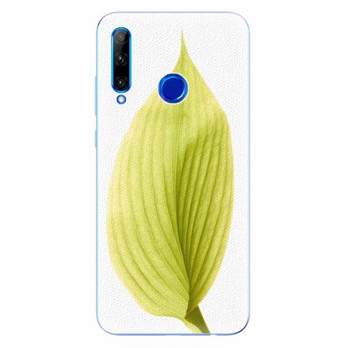 Silikonové pouzdro iSaprio - Green Leaf - Huawei Honor 20 Lite