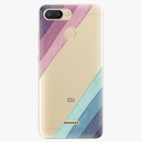 Silikonové pouzdro iSaprio - Glitter Stripes 01 - Xiaomi Redmi 6