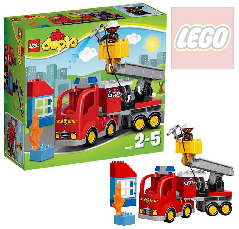 LEGO DUPLO Auto hasičské 10592 STAVEBNICE