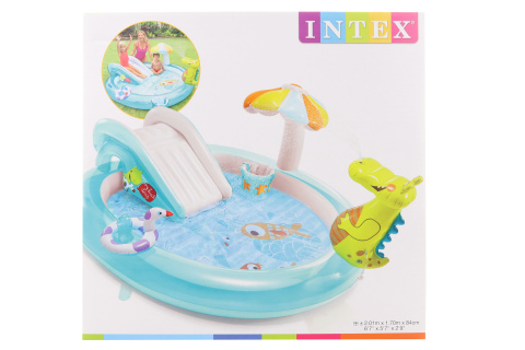 INTEX Hrací centrum (bazén) s krokodýlem 57165