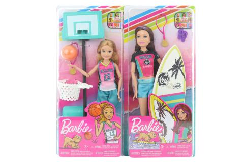 Barbie Sportování asst GHK34