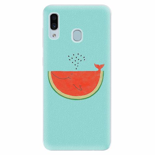 Silikonové pouzdro iSaprio - Melon - Samsung Galaxy A30