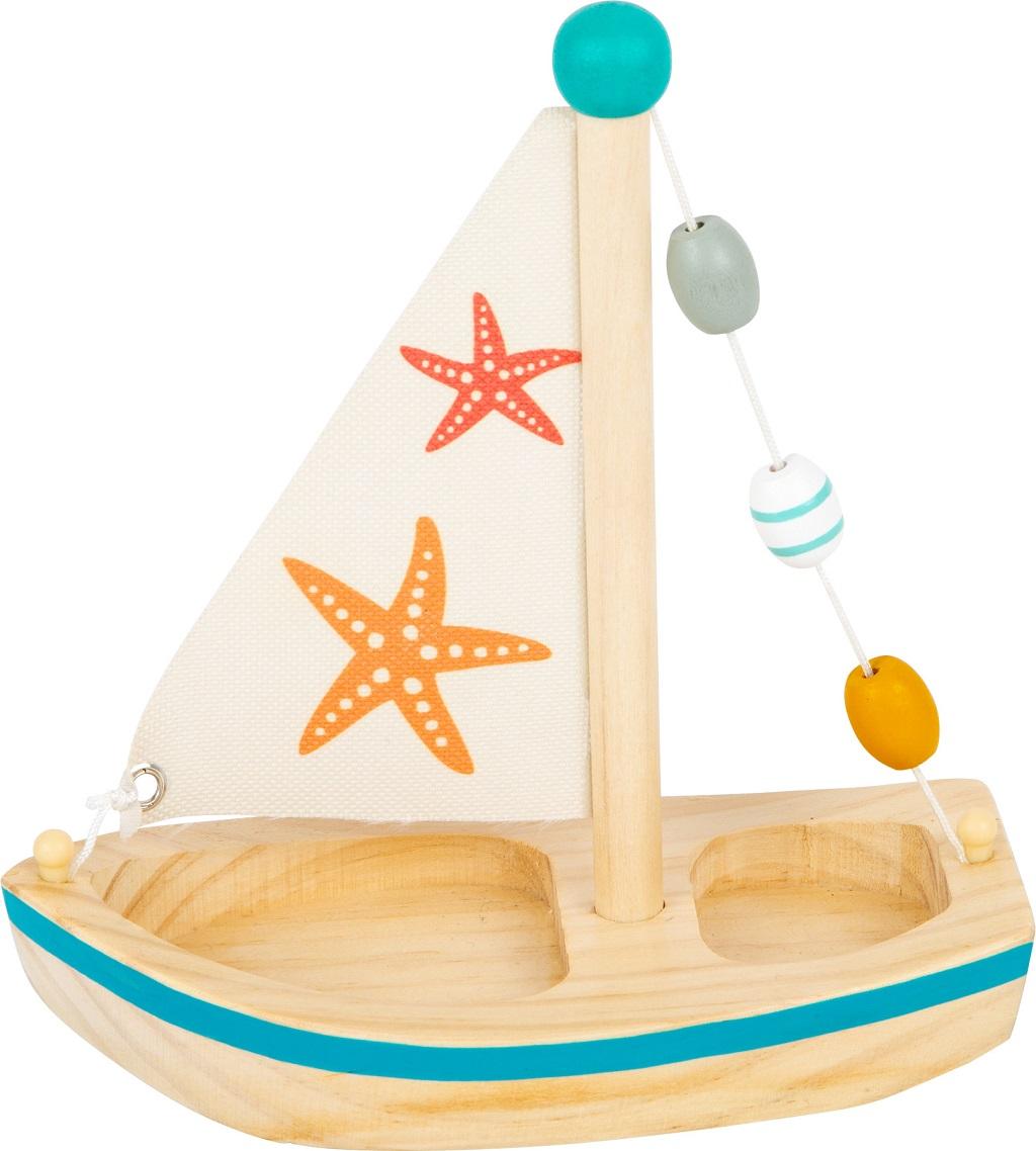 Small Foot Vodní hračka plachetnice hvězdice
