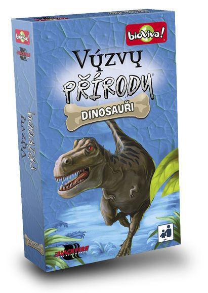 ADC Hra BioViva! Výzvy přírody Dinosauři vědomostní karetní