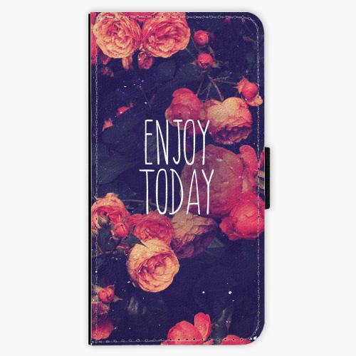 Flipové pouzdro iSaprio - Enjoy Today - Huawei Ascend P8