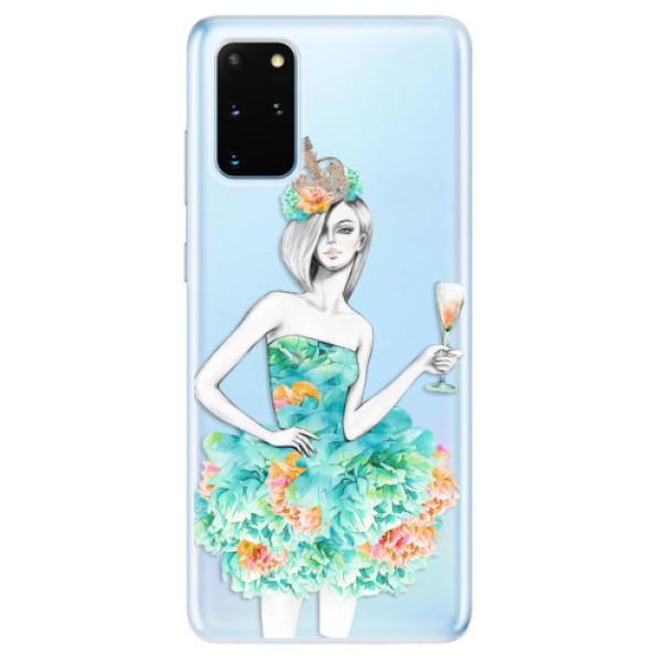 Odolné silikonové pouzdro iSaprio - Queen of Parties - Samsung Galaxy S20+