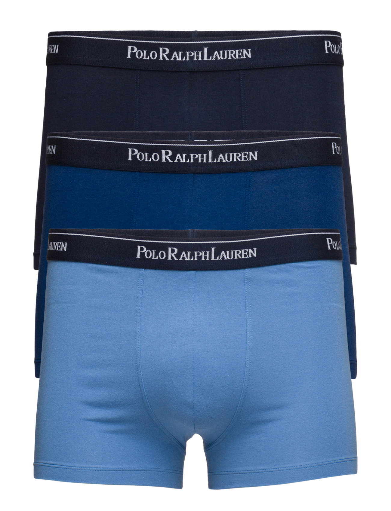 Pánské boxerky Three classic trunks 3pack - Ralph Lauren - Modrá mix/M