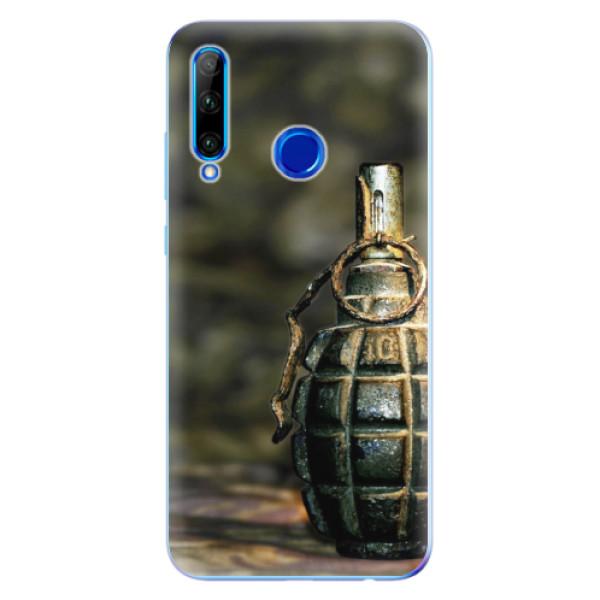 Odolné silikonové pouzdro iSaprio - Grenade - Huawei Honor 20 Lite