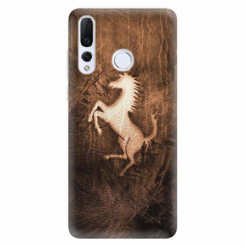 Silikonové pouzdro iSaprio - Vintage Horse - Huawei Nova 4
