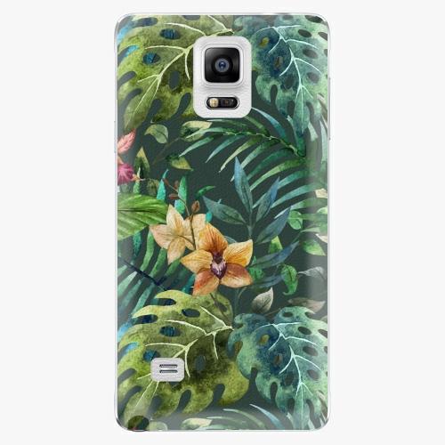 Plastový kryt iSaprio - Tropical Green 02 - Samsung Galaxy Note 4