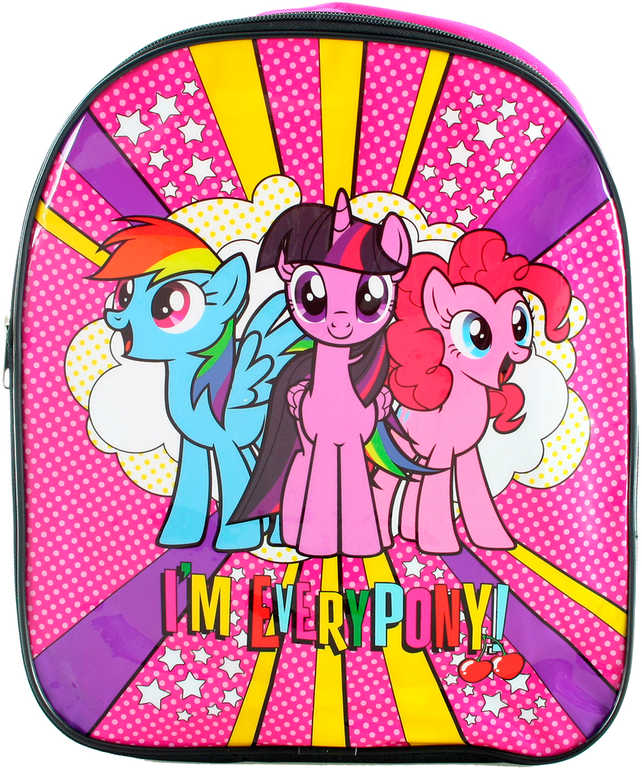 Batoh dětský 3D efekt My Little Ponny 26x34x8cm pro holky